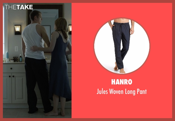 Hanro blue pant from House of Cards seen with Will Conway (Joel Kinnaman)