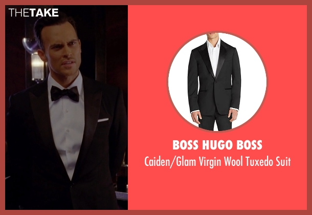 Boss Hugo Boss black suit from American Horror Story seen with Will Drake (Cheyenne Jackson)
