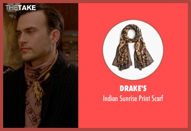 Drake's brown scarf from American Horror Story seen with Will Drake (Cheyenne Jackson)