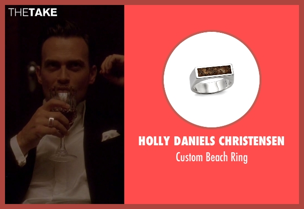 Holly Daniels Christensen silver ring from American Horror Story seen with Will Drake (Cheyenne Jackson)