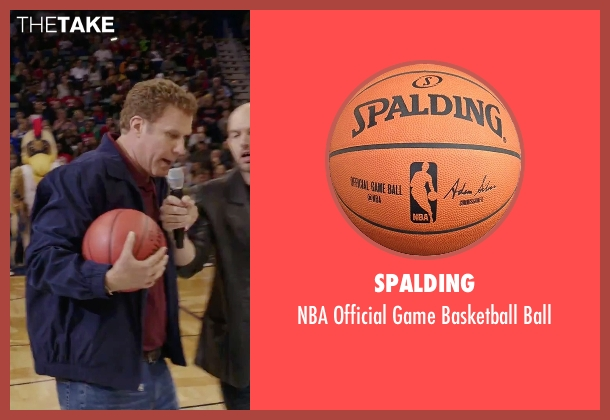 Spalding ball from Daddy's Home seen with Will Ferrell (Brad)