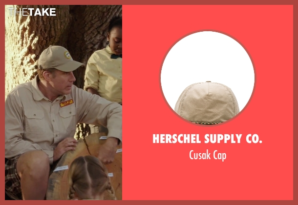Herschel Supply Co. beige cap from Daddy's Home seen with Will Ferrell (Brad)