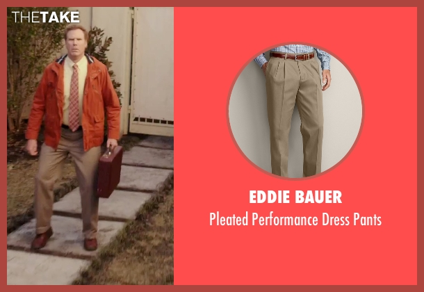 Eddie Bauer beige pants from Daddy's Home seen with Will Ferrell (Brad)