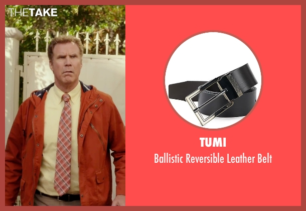 Tumi black belt from Daddy's Home seen with Will Ferrell (Brad)