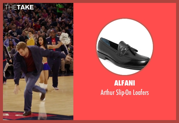 Alfani black loafers from Daddy's Home seen with Will Ferrell (Brad)