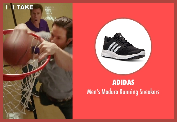 Adidas black sneakers from Daddy's Home seen with Will Ferrell (Brad)