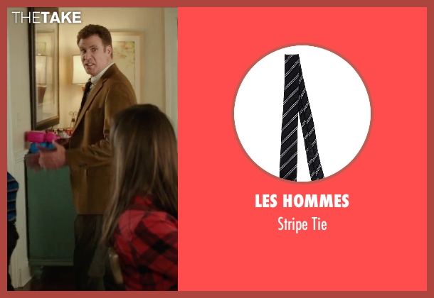 Les Hommes black tie from Daddy's Home seen with Will Ferrell (Brad)