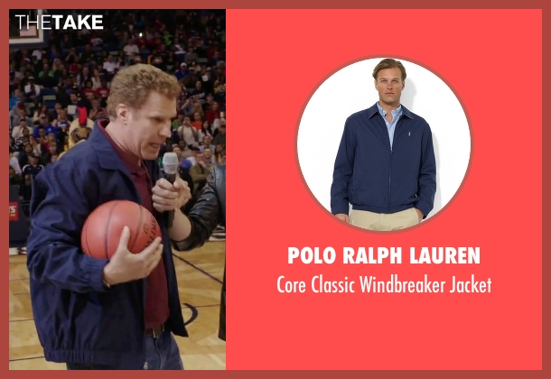 Polo Ralph Lauren blue jacket from Daddy's Home seen with Will Ferrell (Brad)
