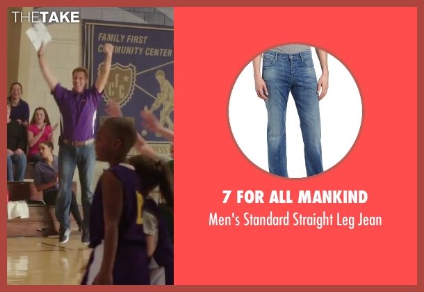 7 For All Mankind blue jean from Daddy's Home seen with Will Ferrell (Brad)