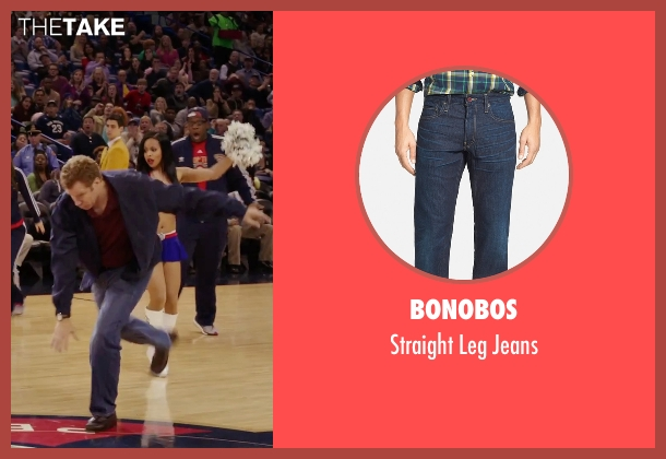 Bonobos blue jeans from Daddy's Home seen with Will Ferrell (Brad)