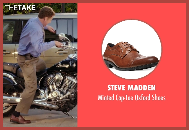 Steve Madden brown shoes from Daddy's Home seen with Will Ferrell (Brad)