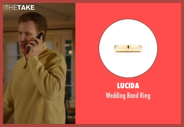 Lucida gold ring from Daddy's Home seen with Will Ferrell (Brad)