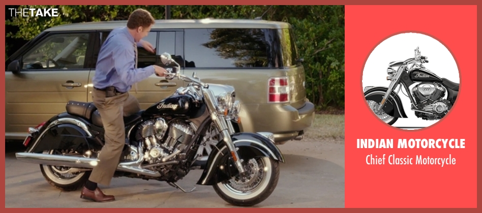 Indian Motorcycle motorcycle from Daddy's Home seen with Will Ferrell (Brad)