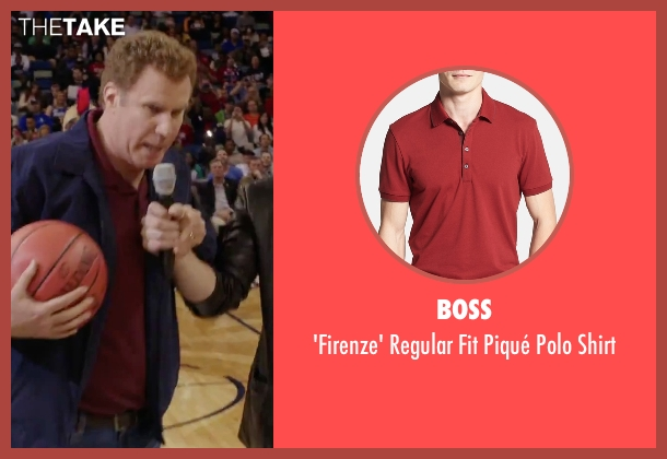Boss red shirt from Daddy's Home seen with Will Ferrell (Brad)
