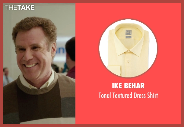 Ike Behar	 yellow shirt from Daddy's Home seen with Will Ferrell (Brad)