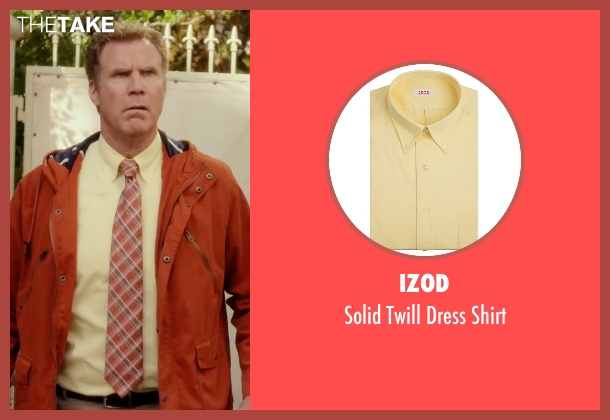 Izod yellow shirt from Daddy's Home seen with Will Ferrell (Brad)