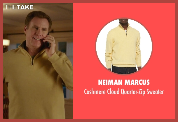 Neiman Marcus	 yellow sweater from Daddy's Home seen with Will Ferrell (Brad)