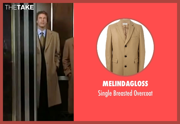 Melindagloss beige overcoat from Elf seen with Will Ferrell (Buddy)