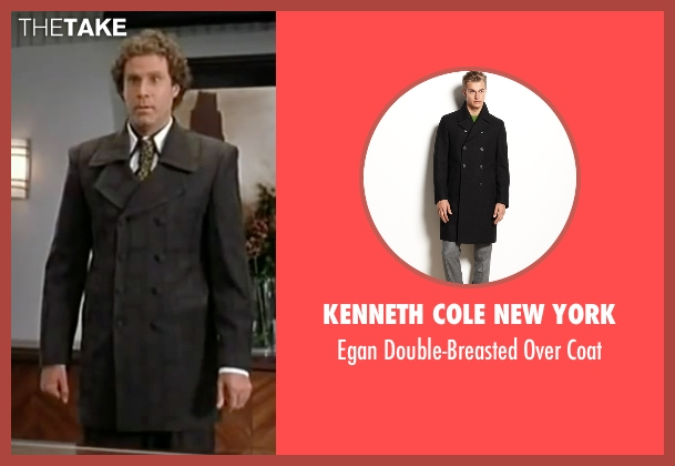 Kenneth Cole New York black coat from Elf seen with Will Ferrell (Buddy)