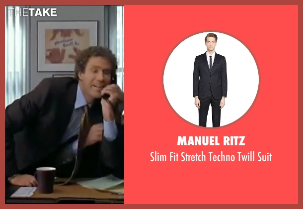 Manuel Ritz black suit from Elf seen with Will Ferrell (Buddy)