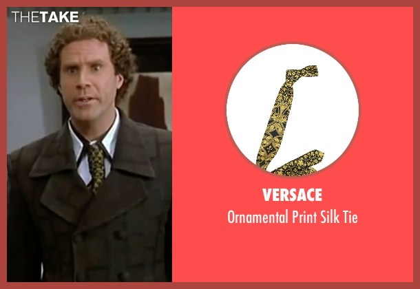Versace black tie from Elf seen with Will Ferrell (Buddy)