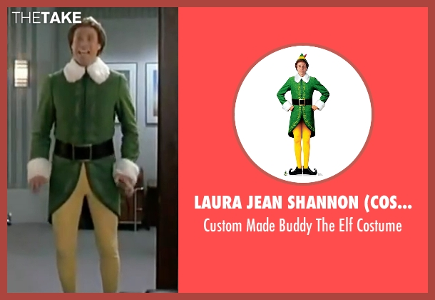 Laura Jean Shannon (Costume Designer) costume from Elf seen with Will Ferrell (Buddy)
