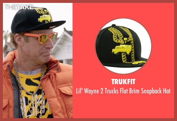 Trukfit black hat from Get Hard seen with Will Ferrell (James King)