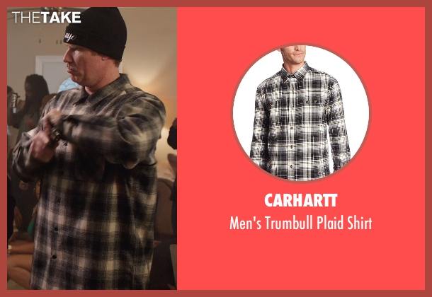 Carhartt black shirt from Get Hard seen with Will Ferrell (James King)
