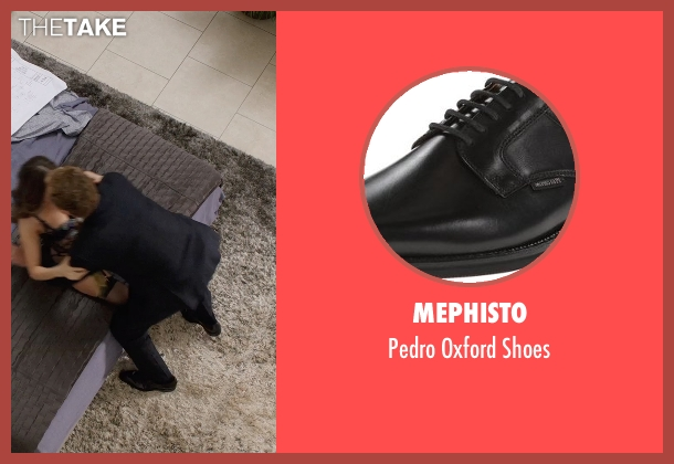 Mephisto black shoes from Get Hard seen with Will Ferrell (James King)