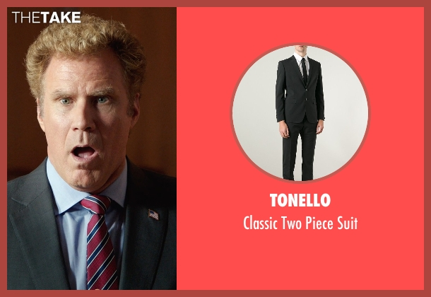 Tonello black suit from Get Hard seen with Will Ferrell (James King)