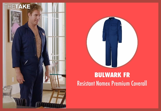 Bulwark FR blue coverall from Get Hard seen with Will Ferrell (James King)