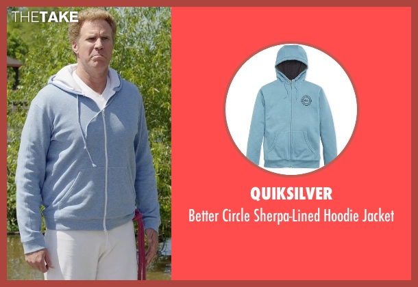 Quiksilver blue jacket from Get Hard seen with Will Ferrell (James King)