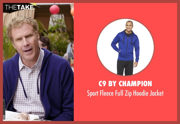 C9 by Champion blue jacket from Get Hard seen with Will Ferrell (James King)