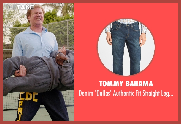 Tommy Bahama blue jeans from Get Hard seen with Will Ferrell (James King)