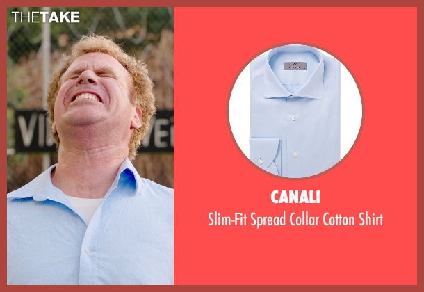 Canali blue shirt from Get Hard seen with Will Ferrell (James King)