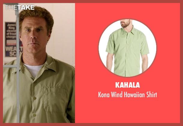 Kahala green shirt from Get Hard seen with Will Ferrell (James King)