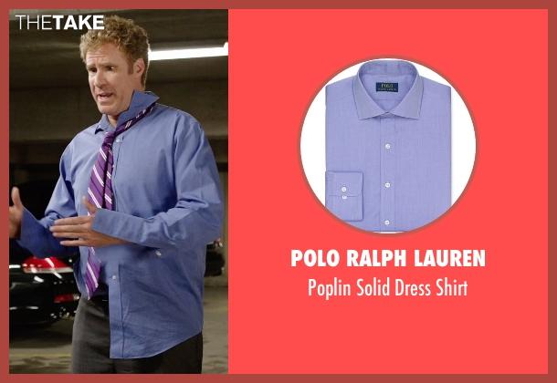 Polo Ralph Lauren purple shirt from Get Hard seen with Will Ferrell (James King)