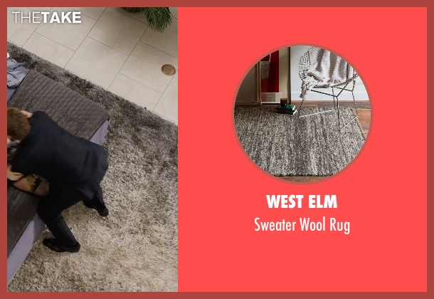 West Elm rug from Get Hard seen with Will Ferrell (James King)