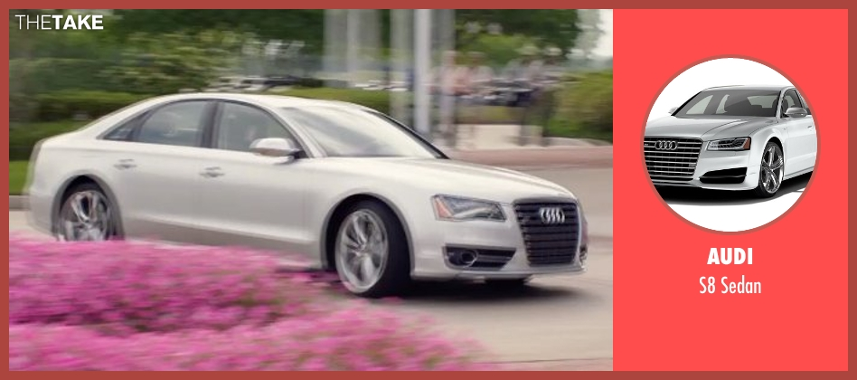 Audi sedan from Get Hard seen with Will Ferrell (James King)
