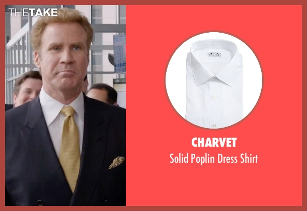 Charvet white shirt from Get Hard seen with Will Ferrell (James King)