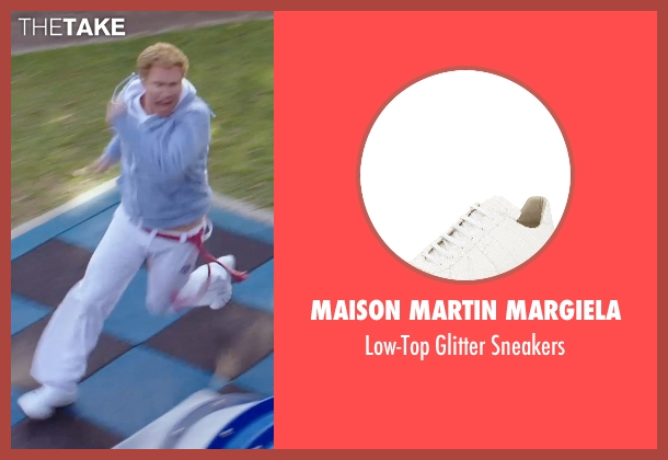 Maison Martin Margiela white sneakers from Get Hard seen with Will Ferrell (James King)