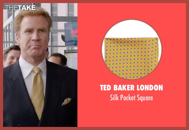Ted Baker London yellow square from Get Hard seen with Will Ferrell (James King)