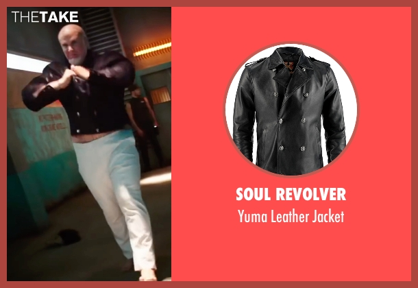 Soul Revolver black jacket from Zoolander 2 seen with Will Ferrell (Mugatu)