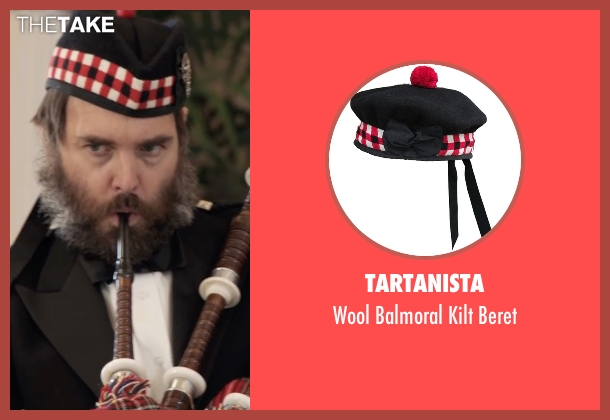 Tartanista beret from Popstar: Never Stop Never Stopping seen with Will Forte (Unknown Character)