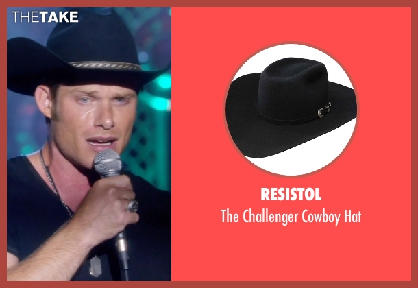 Resistol black hat from Nashville seen with Will Lexington (Chris Carmack)