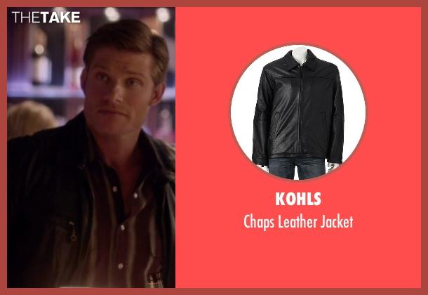 Kohls black jacket from Nashville seen with Will Lexington (Chris Carmack)