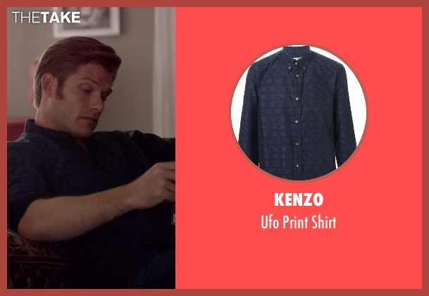 Kenzo blue shirt from Nashville seen with Will Lexington (Chris Carmack)