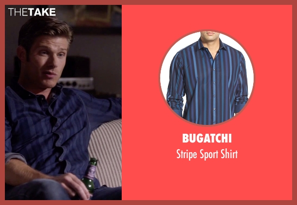 Bugatchi blue shirt from Nashville seen with Will Lexington (Chris Carmack)