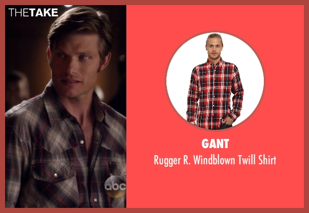 Gant red shirt from Nashville seen with Will Lexington (Chris Carmack)