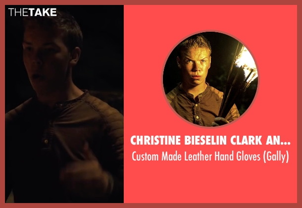 Christine Bieselin Clark and Simonetta Mariano (Costume Designers) gloves from The Maze Runner seen with Will Poulter (Gally)